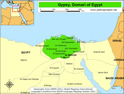 domari map